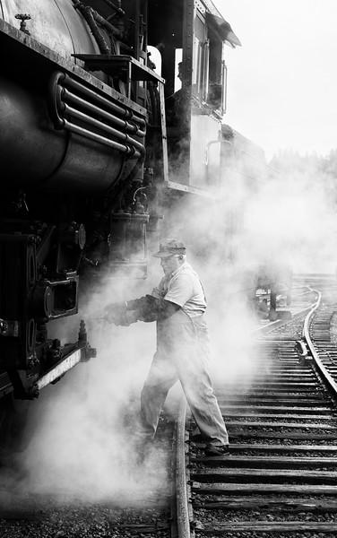 Steam Locomotive OIler