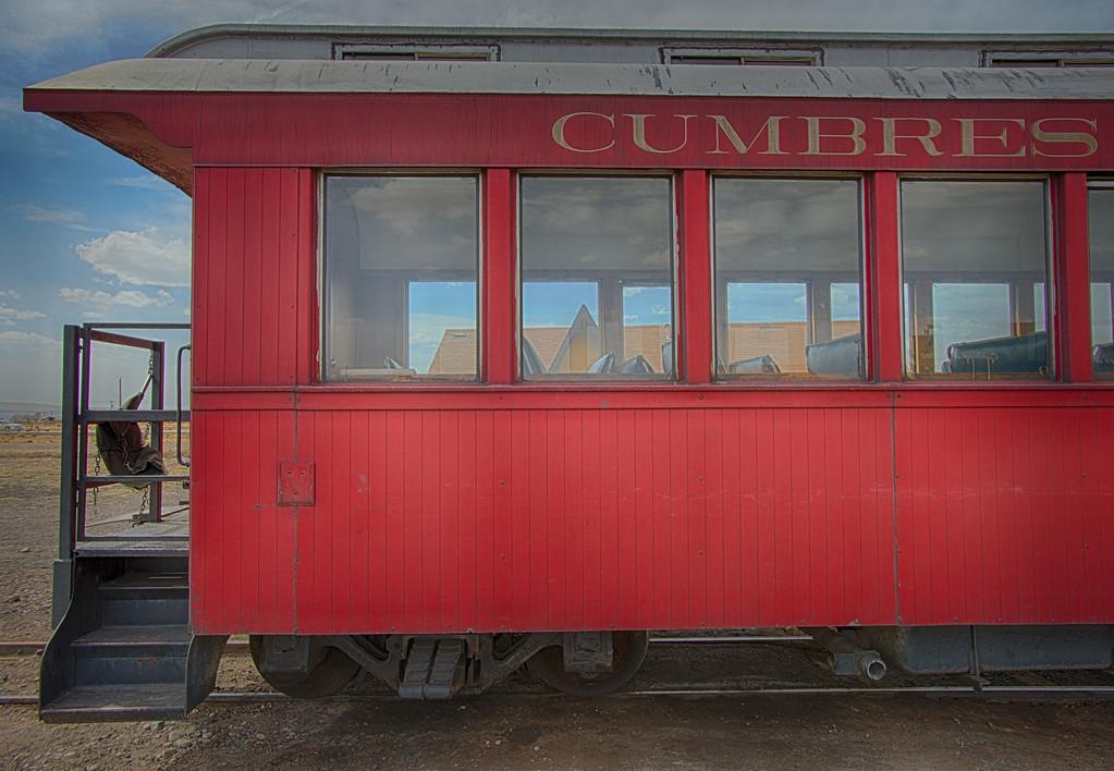 Cumbres & Toltec Railroad Coach