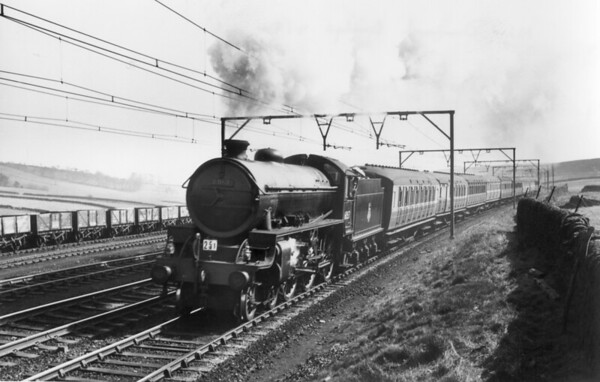 61167 near Dunford Bridge April 1954