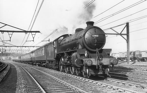 61182 near Guide Bridge  March 1953 Thompson B1