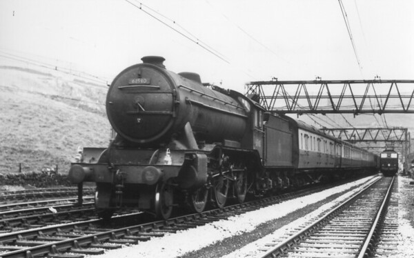61910 near Woodhead May 1954 Gresley K3