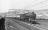 61327 Near Dunford Bridge April 1954 Thompson B1