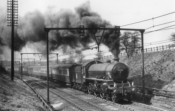 61150 near Newton April 1954 Thompson B1