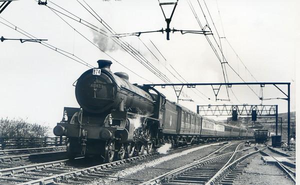 61162 near Penistone April 1954 Thompson B1