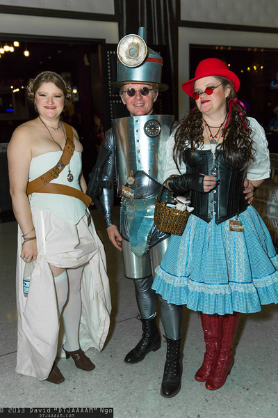 Princess Leia Organa, Tin Man, and Dorothy Gale
