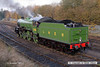 071111-021     Thomson B1 4-6-0 no 1306 Mayflower looking immaculate in LNER apple green livery. The loco never wore this livery during it's main line career, being new to traffic in April 1948 as no 61306, after nationalisation.