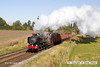 121006-018     GWR 9400 class 0-6-0PT no. 9466 is seen approaching Woodthorpe bridge, powering a Loughborough - Rothley brook, demonstration freight.