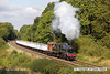 121006-028    BR standard 2MT 2-6-0 no. 78019, captured passing Kinchley lane with a Loughborough - Rothley Brook, demonstration freight.