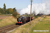 121006-017     GWR 9400 class 0-6-0PT no. 9466 is seen approaching Woodthorpe bridge, powering a Loughborough - Rothley brook, demonstration freight.