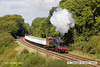121006-027    BR standard 2MT 2-6-0 no. 78019, captured passing Kinchley lane with a Loughborough - Rothley Brook, demonstration freight.
