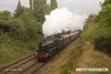 161008-019  LMS 5MT 4-6-0 no 45305 is seen passing Charnwood hauling the TPO set.