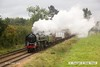 161008-036  BR Britannia 4-6-2 no 70013 Oliver Cromwell passing Woodthorpe with a demonstration freight.