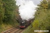 161008-016  LMS 5MT 4-6-0 no 45305 is seen passing Charnwood hauling the TPO set.