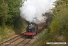 161008-027  Great Western Railway 4500 class 2-6-2T no 4566 passes Charnwood with the 10.45 Loughborough to Rothley Brook.
