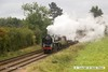 161008-032  BR Britannia 4-6-2 no 70013 Oliver Cromwell passing Woodthorpe with a demonstration freight.