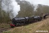 170226-075  USATC S160 2-8-0's  No's 5197 & 6046, coupled up to double head the 15:15 Kingsley & Froghall - Ipstones loop.