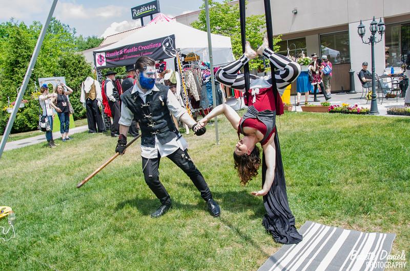 The Steampunk World's Fair - Miss Azkadelia Victorious Hattress