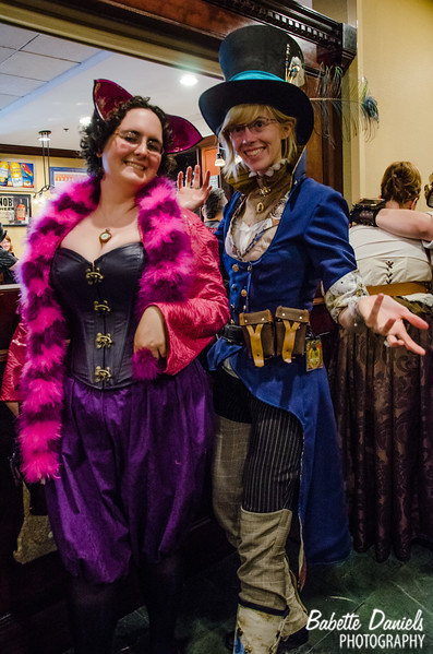 Photos from THE STEAMPUNK WORLD'S FAIR 2014 © 2010 - 2014 Babette Daniels  All photos taken with subject's permission.