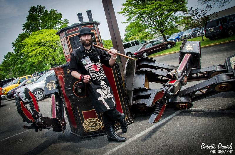 The Steampunk World's Fair - Brett Kelley: The Art Mercenary