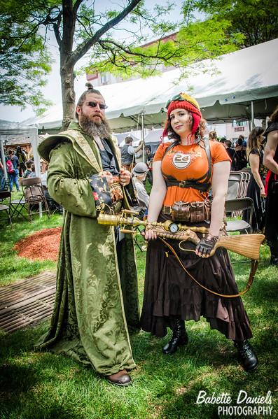 The Steampunk World's Fair - OMV's Alex Squiers & Marina Gurland