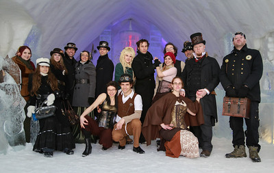 Steampunk Montreal - Hotel de Glace