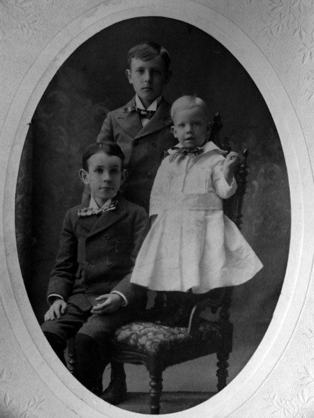 Stowell - Cortland-Francis Stebbins ages 12-10-2&half taken May 1898