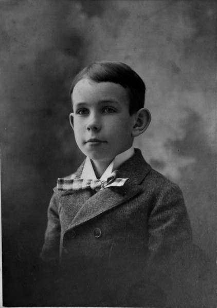 Cortland Bliss Stebbins 2nd for Francis May 1898 age 10