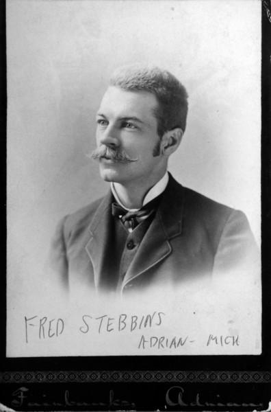 Fredrick Briggs Stebbins married Myra Eloise Bliss