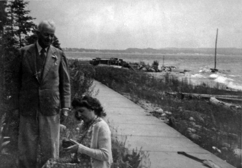 Artur C & Verginia B Stebbins Roaring Brook  July 1943