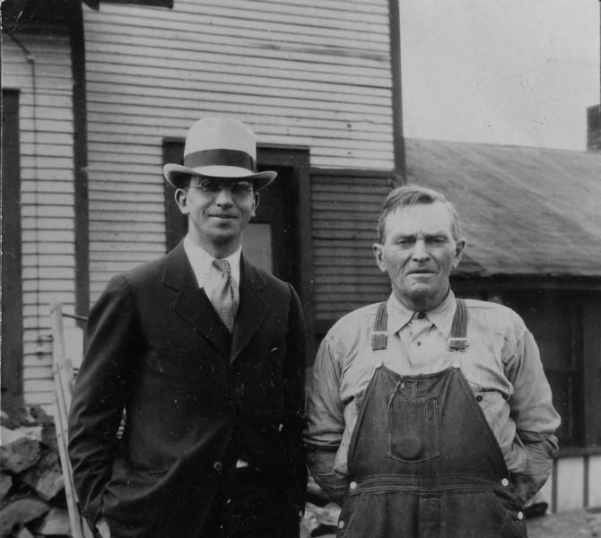 DSCN2637 Rowland Stebbins & J (or G) Archie Burgoyne on farm