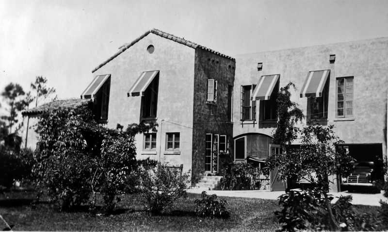 DSCN2627 Winter Residence of Arthur Stebbins & family Coral Gables Fla  1935-36