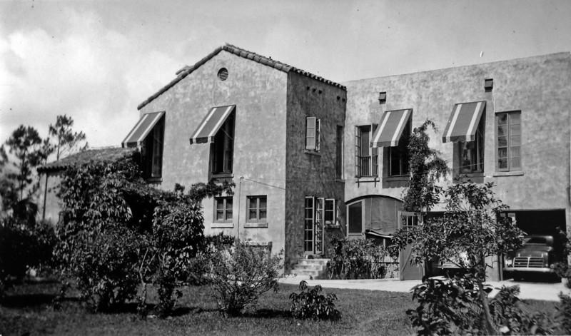 DSCN2646 Winter Residence of Arthur Stebbins & family Coral Gables Fla  1935-36