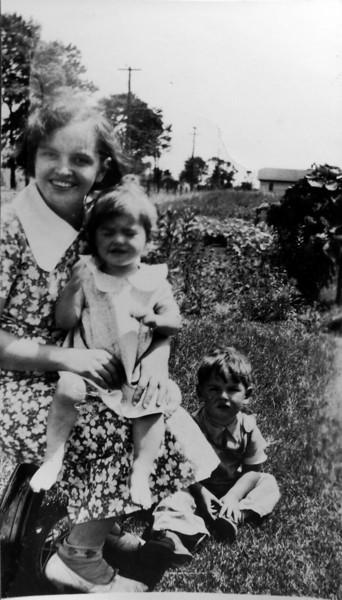Mickey & Kay & Harriette July 1937