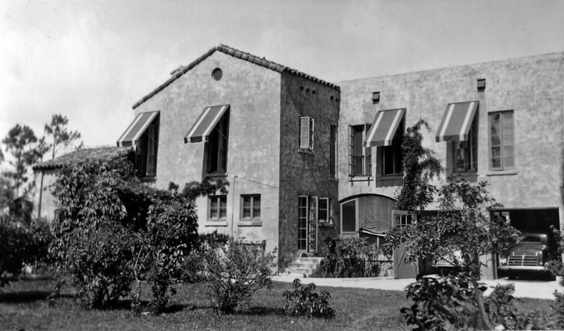 DSCN2648 Winter Residence of Arthur Stebbins & family Coral Gables Fla  1935-36