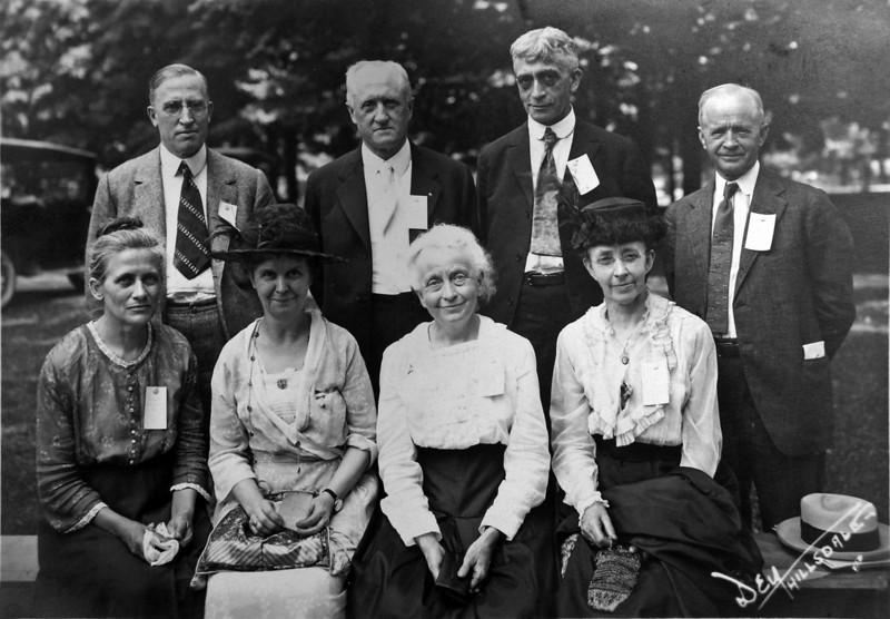 DSCN2838 seated 2nd from left Anna Burgoyne Stebbins