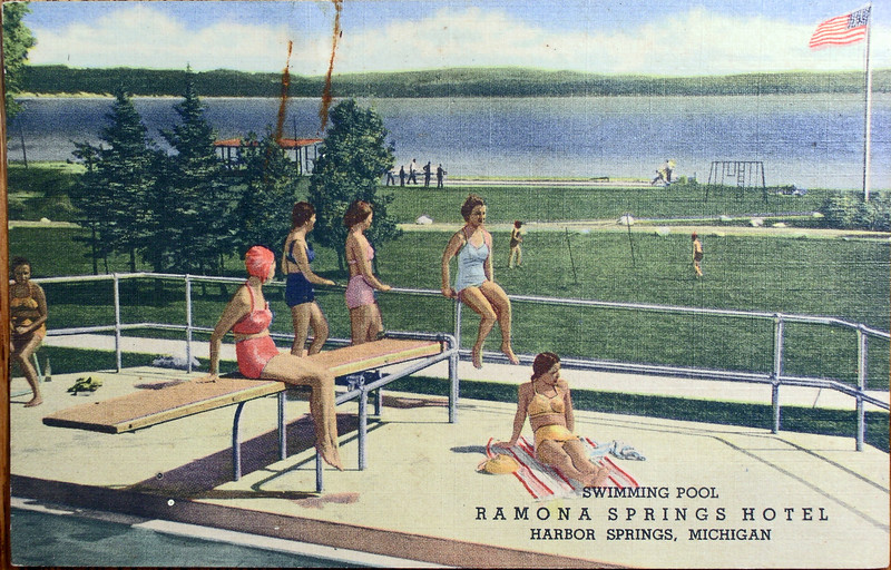 Swimming Pool Ramona Springs Hotel Harbor Springs Michigan