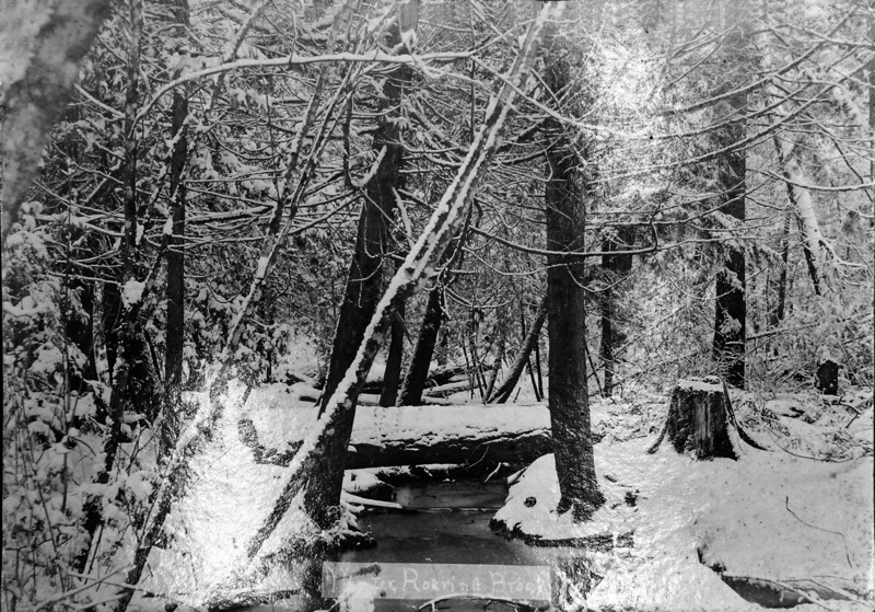 Winter - Roaring Brook about 1910-ish