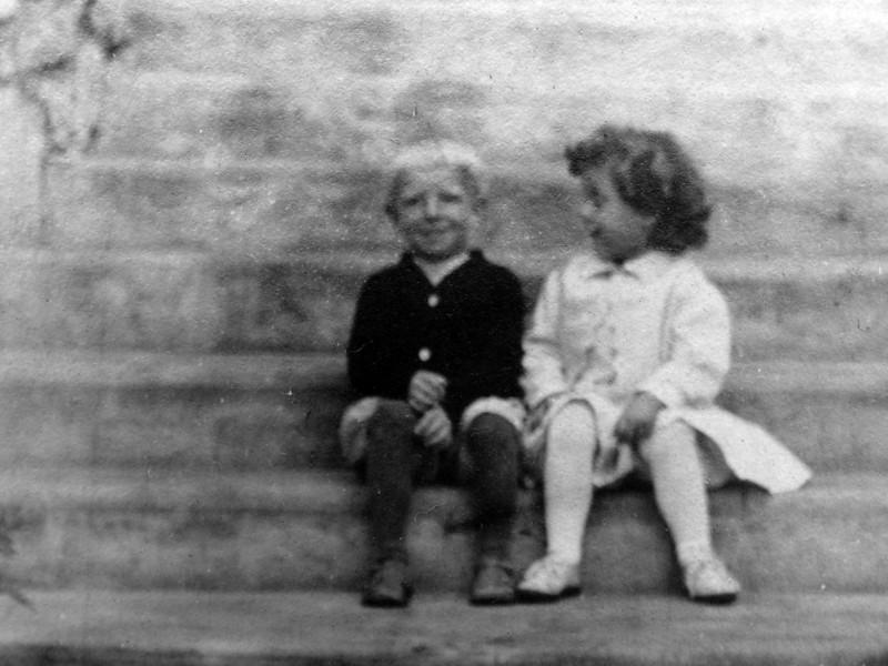 DSCN3256 George Arthur Stebbins & Katharine Ernst Archibald at Roaring Brook 1909