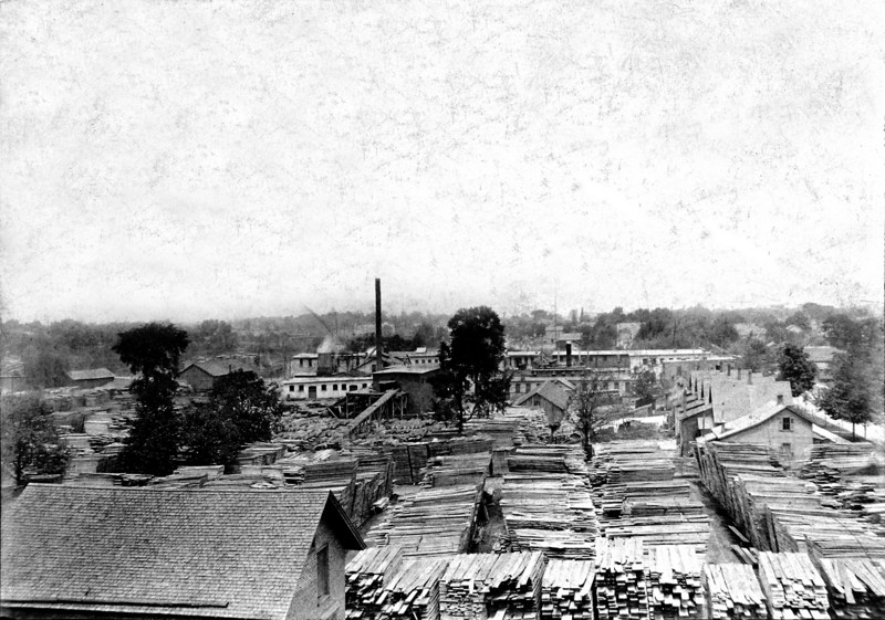 DSCN3243 Lansing Company Cedar Street at Rint (maybe) Lansing Mi about 1909