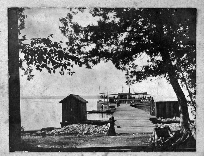 DSCN2178 Roaring Brook Association dock about 1906 JPEG