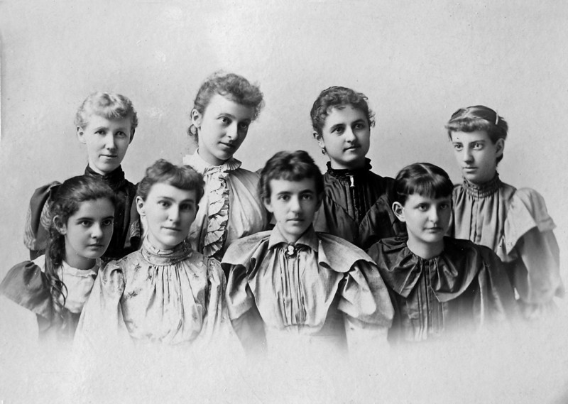 Susan Stebbins lower right et all 1893