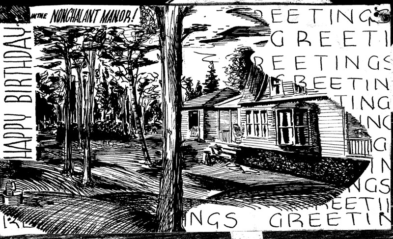 Roaring Brook Nonchalant Manor Drawing