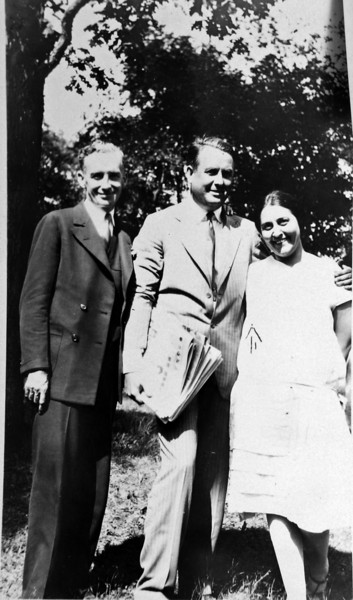 DSCN2924 who & Stowell Stebbins & Olive Laurence - Jan 1931