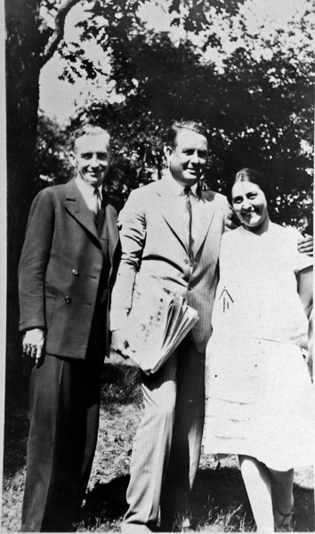 DSCN2927 who & Stowell Stebbins & Olive Laurence - Jan 1931