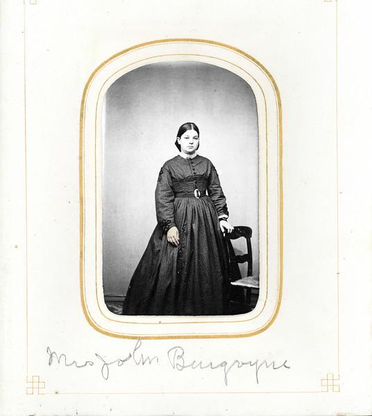 Mrs John Burgoyne