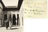 Anna B Stebbins & Mrs W K Prudden Granada Court of Lions Alhambra 1931