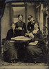 Julia Lanxxxx & Anna Burgoyne & Exxxx Palxxx & Alice Van West (Maybe) full Tin-Type