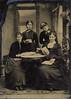 Julia Lanxxxx & Anna Burgoyne & Exxxx Palxxx & Alice Van West (Maybe) full Tin-Type