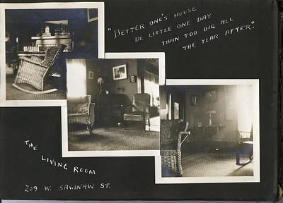 Stowell Stebbins Album 1911 through 1922