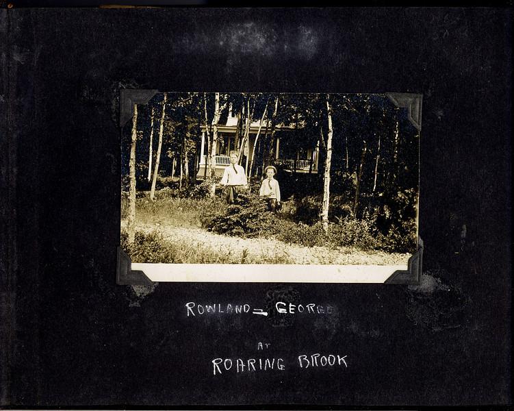 ac Rowland & Geroge Stebbins at Roaring Brook